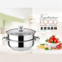 Adneny Stainless Steel 28cm Multi-Purpose Soup Tureen
