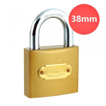 38mm Lemen Color Painted Iron Padlock With Iron Cylinder