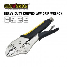 "Crownman 7"" Heavy Duty Grip Wrench with TRP Handle"