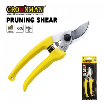 Crownman Professional Pruning Shear with Plastic Handle