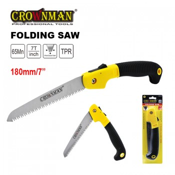 Crownman 7 inches Steel Folding Saw
