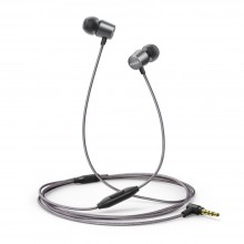 Anker A3801 SoundBuds Verve with built-in mic Stereo Wired Earphone - Black+Gray