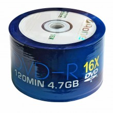 DVD-R 4.7GB 120min 50pcs/pack