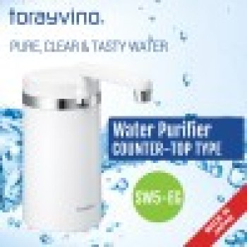 Torayvino Water Purifier counter Top Type