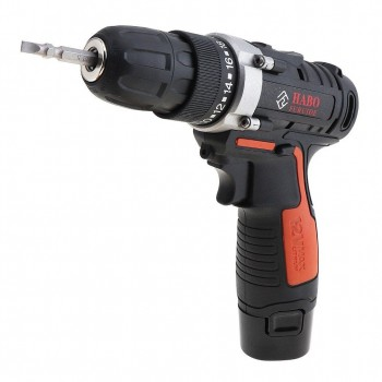 Habo 12V Cordless Drill with Carrying Case