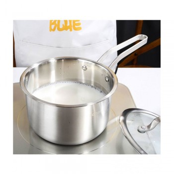 Adneny Stainless Steel 18cm Milk Pot : Z-262
