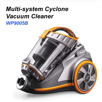 Puppyoo WP9005B Corded Canister Vacuum Cleaner
