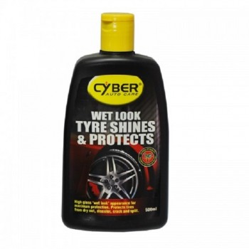Cyber Wet Look Tyre Shine & Protects - 500ml