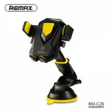 Remax RM-C26-B-Y Transformer Car & Desktop Holder-Black with Yellow