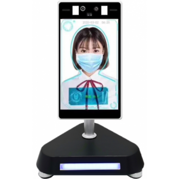 iTrace 8S 2.0 Temperature, Facial Recognition and Access Control - Desktop Stand