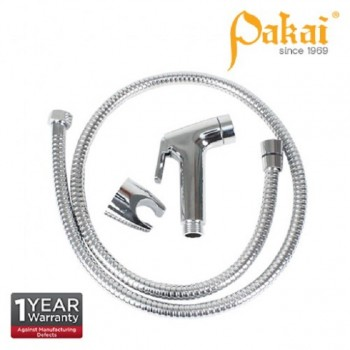 Pakai Chrome Plated ABS Hand Spray Bidet Set PK-A524