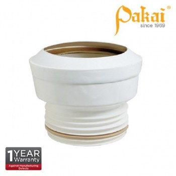 Pakai 4'' (100mm) Water Closet (WC) Straight Outlet Connector PK-P450